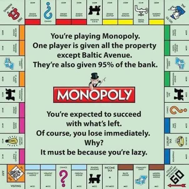 monopoly with writing