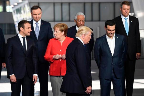 Image: BELGIUM-NATO-DEFENCE-POLITICS-DIPLOMACY-MEETING