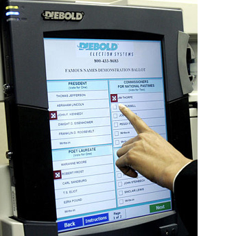 DRE Voting Machine