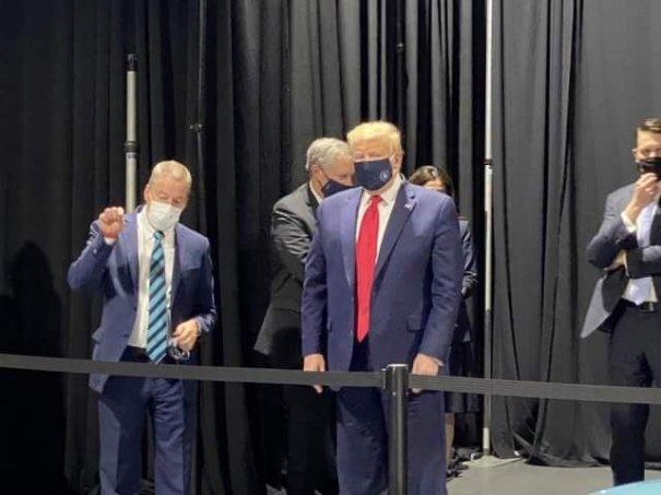 Trump Masked