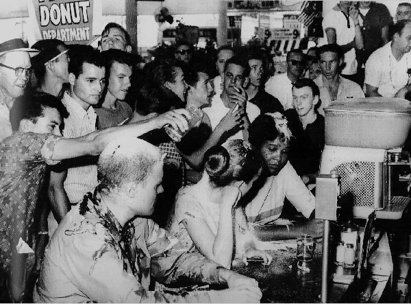 lunch counter racists